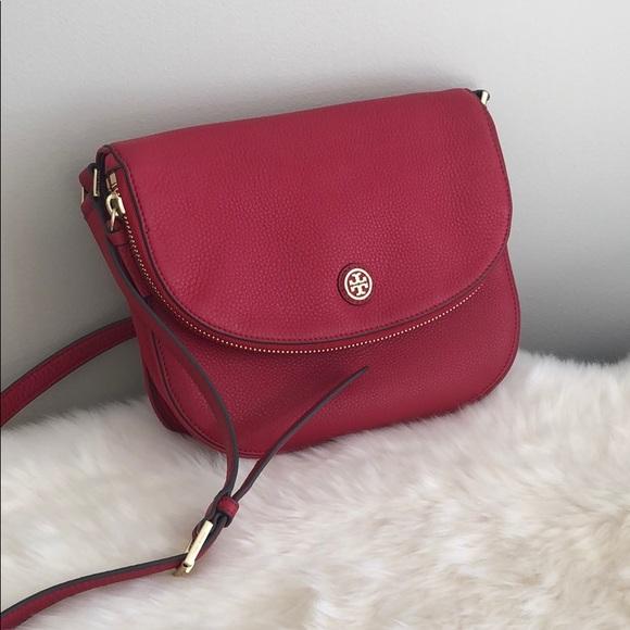 759cbef394c Tory Burch red crossbody bag. M 5c5dfab6f63eea7e2d633333